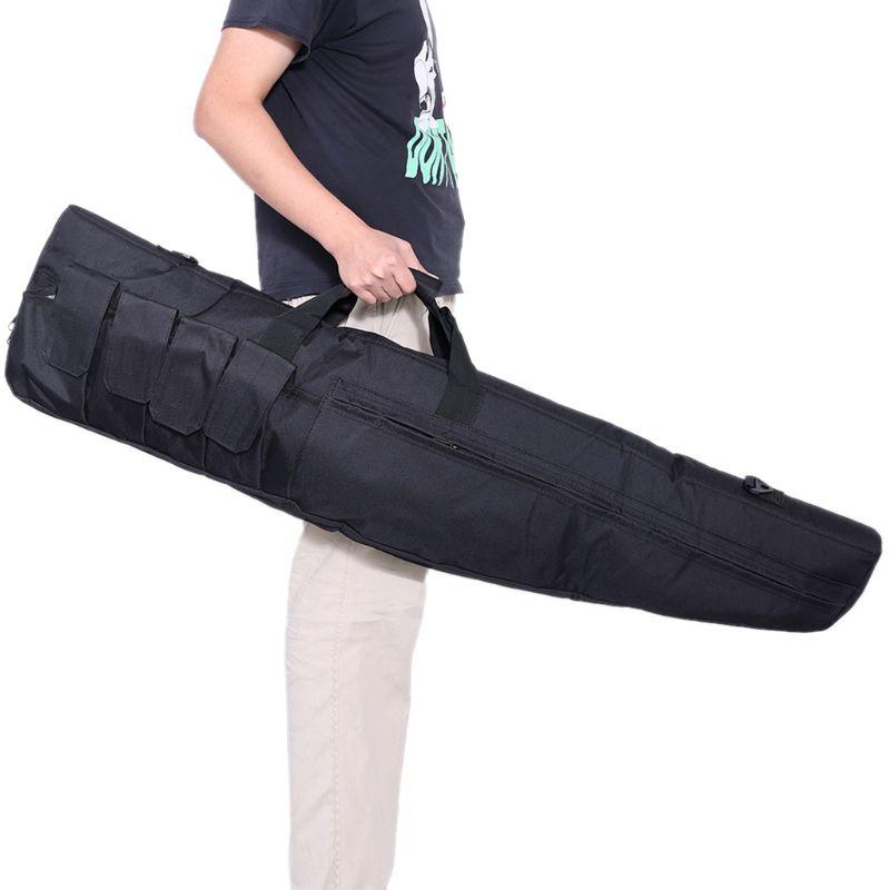 Universal Metal Detector Carry Bag Detecting Fishing Shockproof Handbag Backpack 95AA