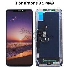 Tela de reposição para iphone xs max, display de lcd para substituição com digitalizador, peças de montagem a2101 a1921 shenchao tianma