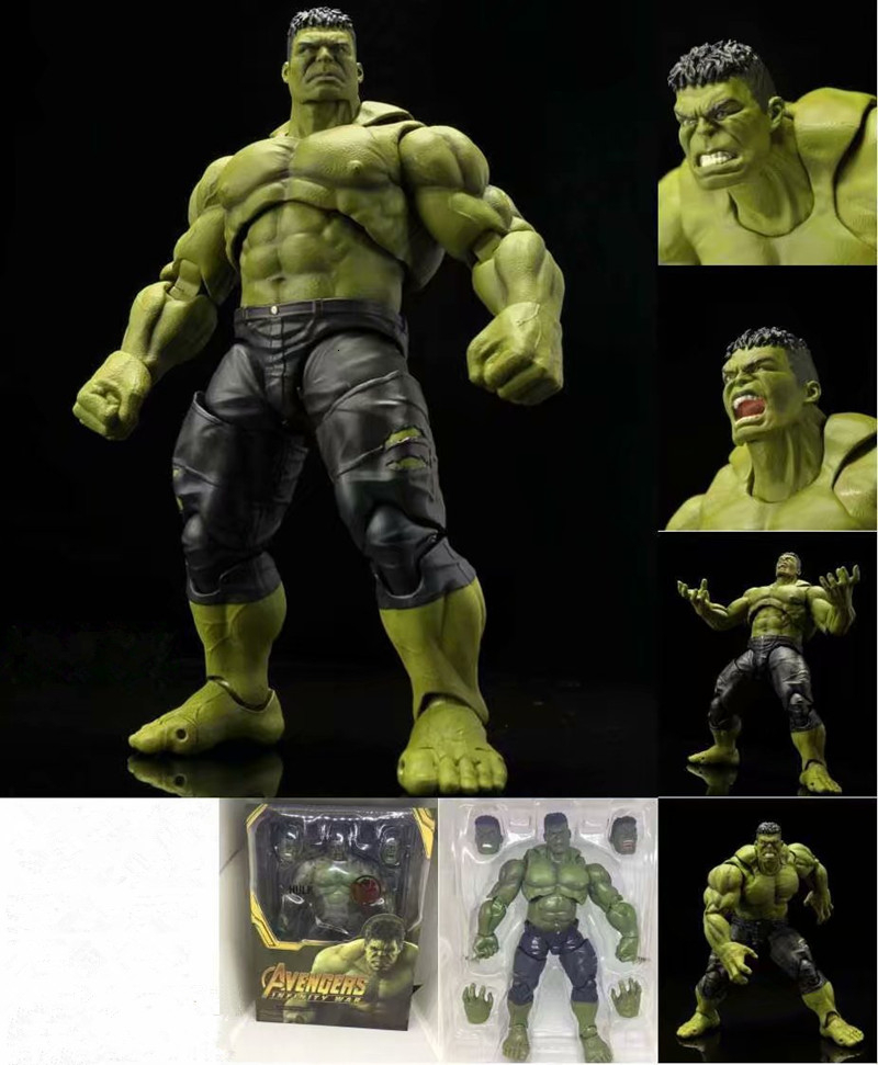 The Avenger Alliance SHF Figures Infinity War Hulk PVC Action Figure Collectible Model Toys Gift Dolls 21CM With Box