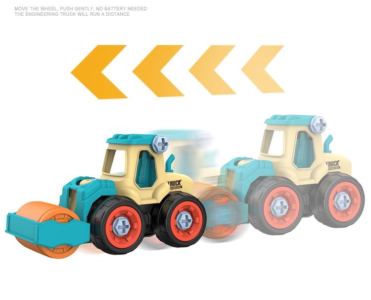 DIY Truck Engineering Toys 7