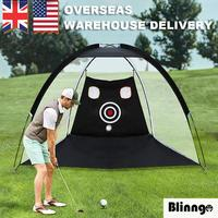 Indoor Outdoor 2m*1.4m*1m  Golf Practice Driving Hit Net Cage Training With Cutting Holes Golf Practice Net Golf Hitting Cage
