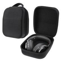 VODOOL EVA жесткий чехол для наушников сумка для хранения гарнитуры коробка защитный чехол для Sennheiser HD598 HD600 HD650 наушники