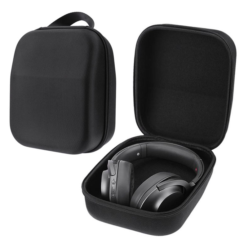 VODOOL EVA Hard Case Headphone Carrying Bag Headset Storage Bag Box Protective Cases For Sennheiser HD598 HD600 HD650 Headphones