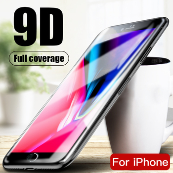 Full Cover Tempered Glass For iPhone 8 7 6 6S Plus SE 2020 Screen Protector Film for iphone X Xr Xs 11 Pro Max glass protection 1