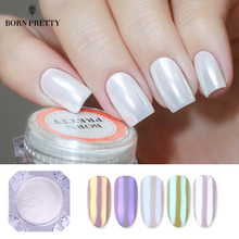 Pearl Nail Glittery Powder Shiny Mirror Matte Shimmer Pigment Powder Dust 1g Manicuring Nail Art Decoration