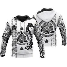 Liumaohua Viking Татуировка воина 3D Печатные Рубашки повседневные 3D принтованные толстовки/толстовка/молния мужчины женщины сатана татуировки Топы 004