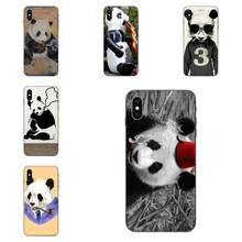 For Huawei Mate 9 10 20 P8 P9 P10 P20 P30 Lite Mini Play Pro P smart Plus Z 2017 2019 TPU Mobile Phone A Cute Smoking Panda(China)
