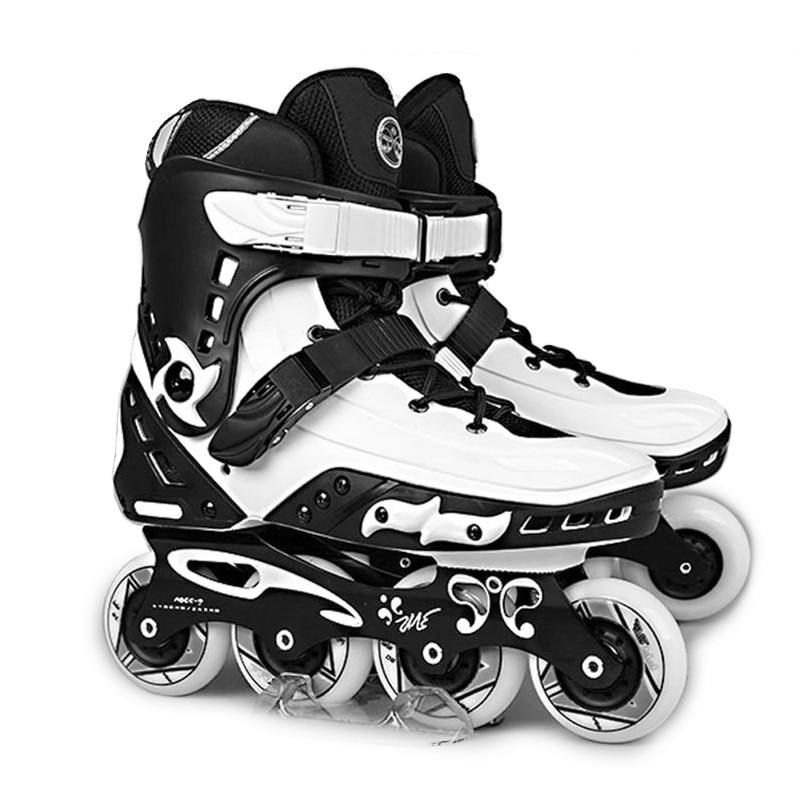 Original Freestyle MT Professional Slalom Inline Skates Adult Roller Skating Shoe Sliding Free Skating Patines Adulto