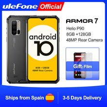 Ulefone Armor 7 андроид 10 прочный мобильный телефон на процессоре Helio P90 8 ГБ + 128 ГБ 2,4 г/5G Wi-Fi беспроводной зарядки глобальная версия смартфона