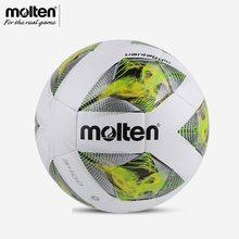 Ballon de Football en cuir PU MOLTEN de haute qualité, taille 4/5, F5A3400, résistant aux objectifs, balles d'entraînement de Match d'équipe, de la ligue de football