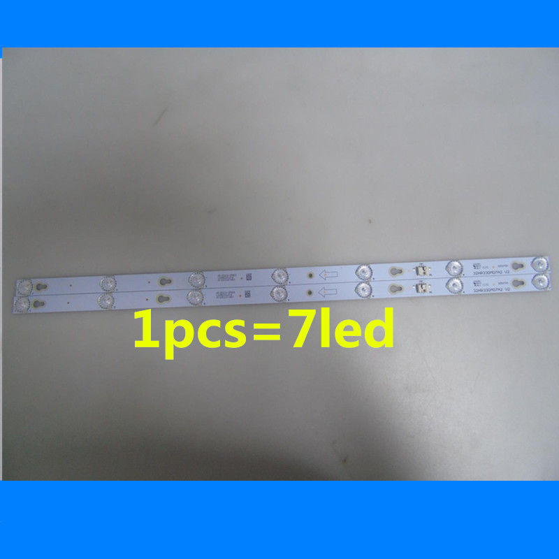 1Set= 2Pieces LED Backlight Lamp Strip For TCL TV TCL L32F3303B YHA-4C-LB320T-YHL LVW320CSOT E227 32HR330M07A2