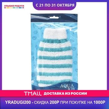 Мочалка   варежка Aqua Joy для душа и ванны