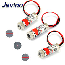 цена на 650nm 5mW Red Point / Line / Cross Laser Module Head Glass Lens Focusable Focus Adjustable Laser Diode Head Industrial Class