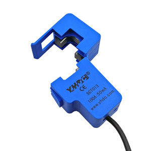 Image 4 - 10 قطعة 30A 50A 100A SCT013 0 100A غير الغازية AC جديد الاستشعار سبليت الأساسية محول التيار الجديد