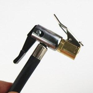 Image 5 - 1 ADET Araba Oto Pirinç 8mm Lastik Jant Lastik hava mandreni şişirme pompası Vana Klip Kelepçe Konnektör Adaptörü Araba Aksesuarları için kompresör