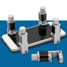 8 unids/lote Clip de Metal ajustable Abrazadera para teléfono herramientas de reparación pantalla LCD Clip de sujeción para IPhone/IPad/Tablet