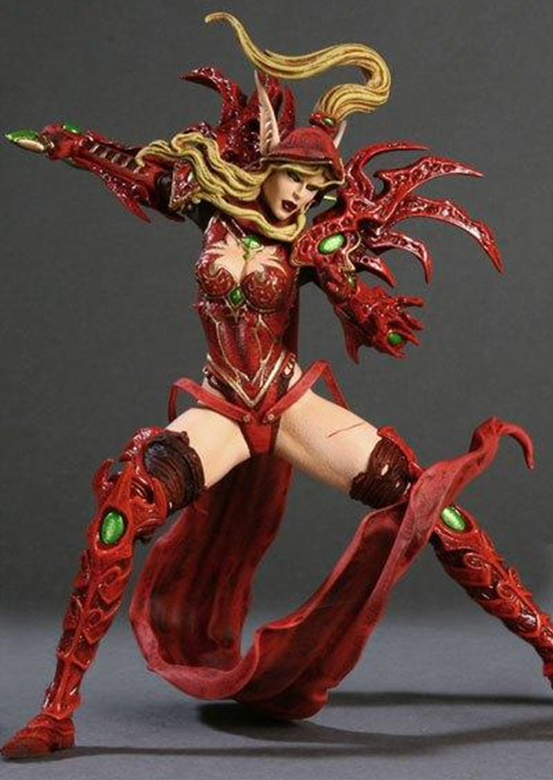 21CM WOW Figure Model Valeera Sanguinar Blood Elf Rogue Sylvanas Windrunner Classic Game Toys For Boys