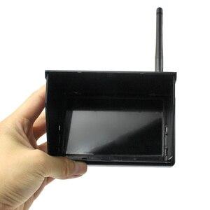 Image 3 - شاشة JMT 5.8G 48CH 4.3 بوصة LCD 480x22 بكسل 16:9 NTSC/PAL FPV جهاز بحث تلقائي مع بطارية مدمجة من OSD
