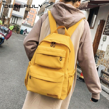 цена Rucksack Women Waterproof Canvas Backpack Large Capacity Women Laptop Backpack School Teenagers Girls Travel Mochila Feminina онлайн в 2017 году