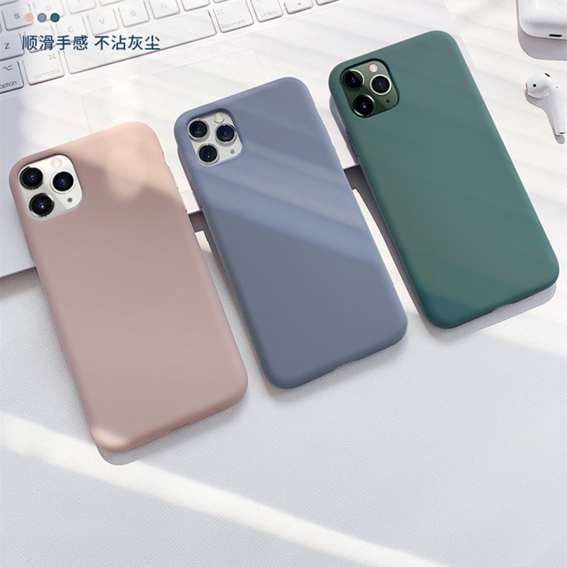 2020 Hot Sale Anti-knock Fitted Case for Apple IPhone 11 Pro XR XS MAX X 8 7 6 6S Plus Clear Soft TPU Cover