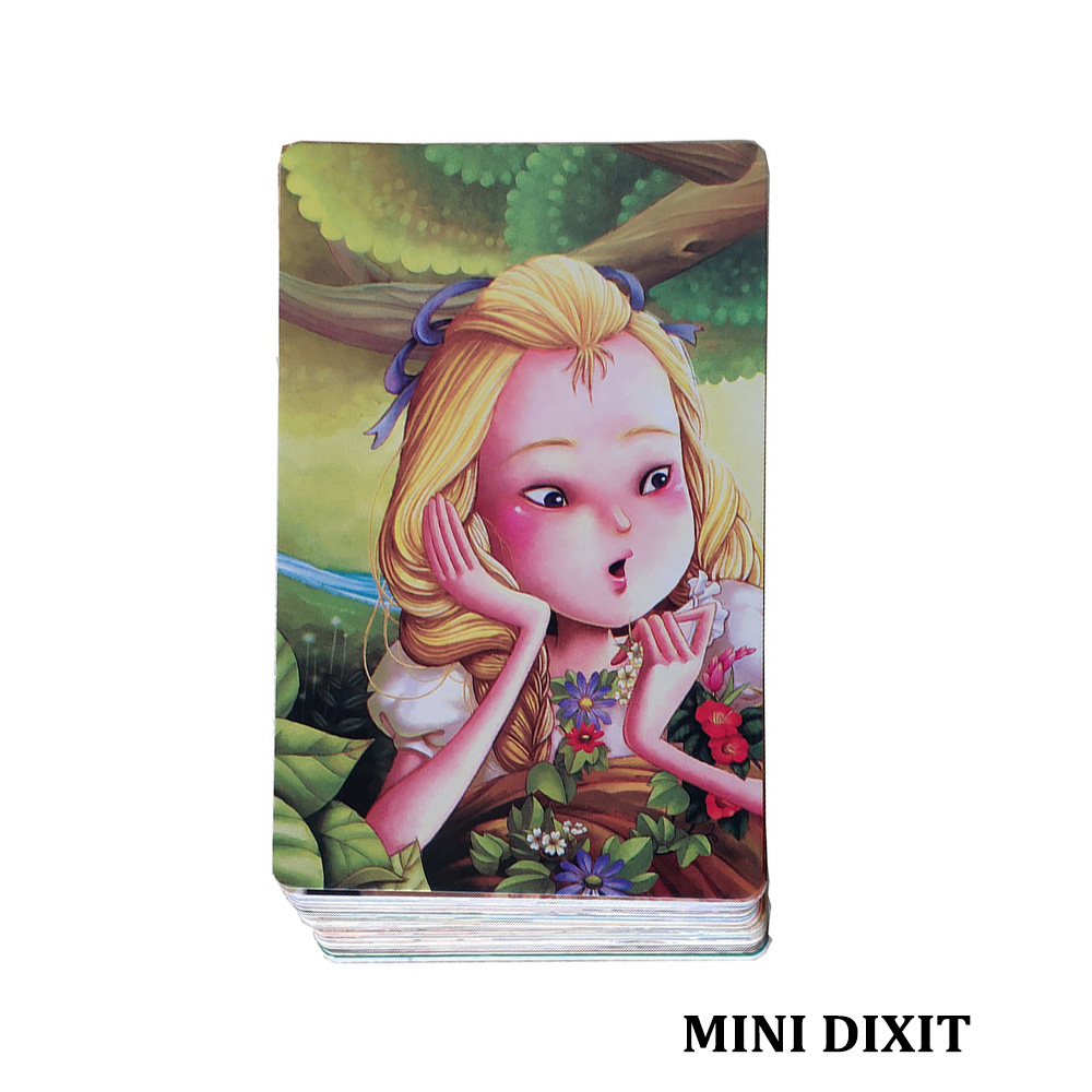 Mini Dixit 11 Cards Game For Kids Serenity 78 Cards Education Toys Home School Party Fun Board Game