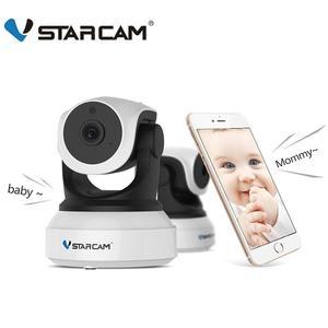 Vstarcam C7824WIP 720P HD WIFI IP Camera Night Vision home Security Camera Wireless P2P Indoor IR cam PTZ IP Camara Audio ONVIF(China)