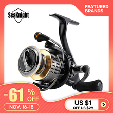 Seaknight Fishing-Reel Carbon-Fiber Power-Carp Drag 1000H-6000H 15kg/33lbs Treant-Ii