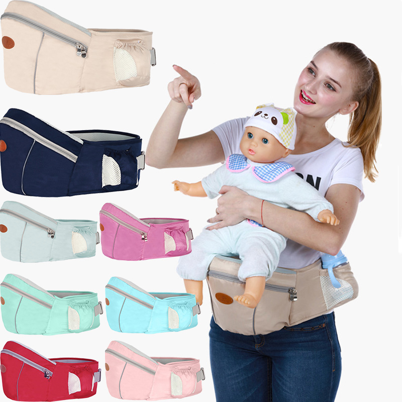 New Baby Carrier Waist Stool Walkers Baby Waist Belt Sling Hold Waist Belt Backpack Hipseat Belt Kids Infant Hip Seat