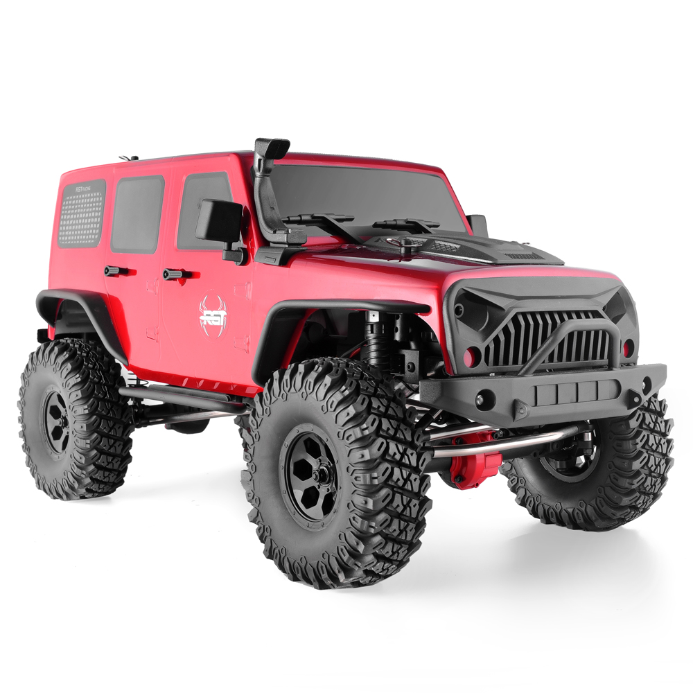 RGT <font><b>Rc</b></font> Crawler 1:10 <font><b>Scale</b></font> 4wd <font><b>RC</b></font> Rock Cruiser EX86100 313mm Wheelbase Crawler Off Road Monster Truck RTR 4x4 Waterproof <font><b>RC</b></font> Car image