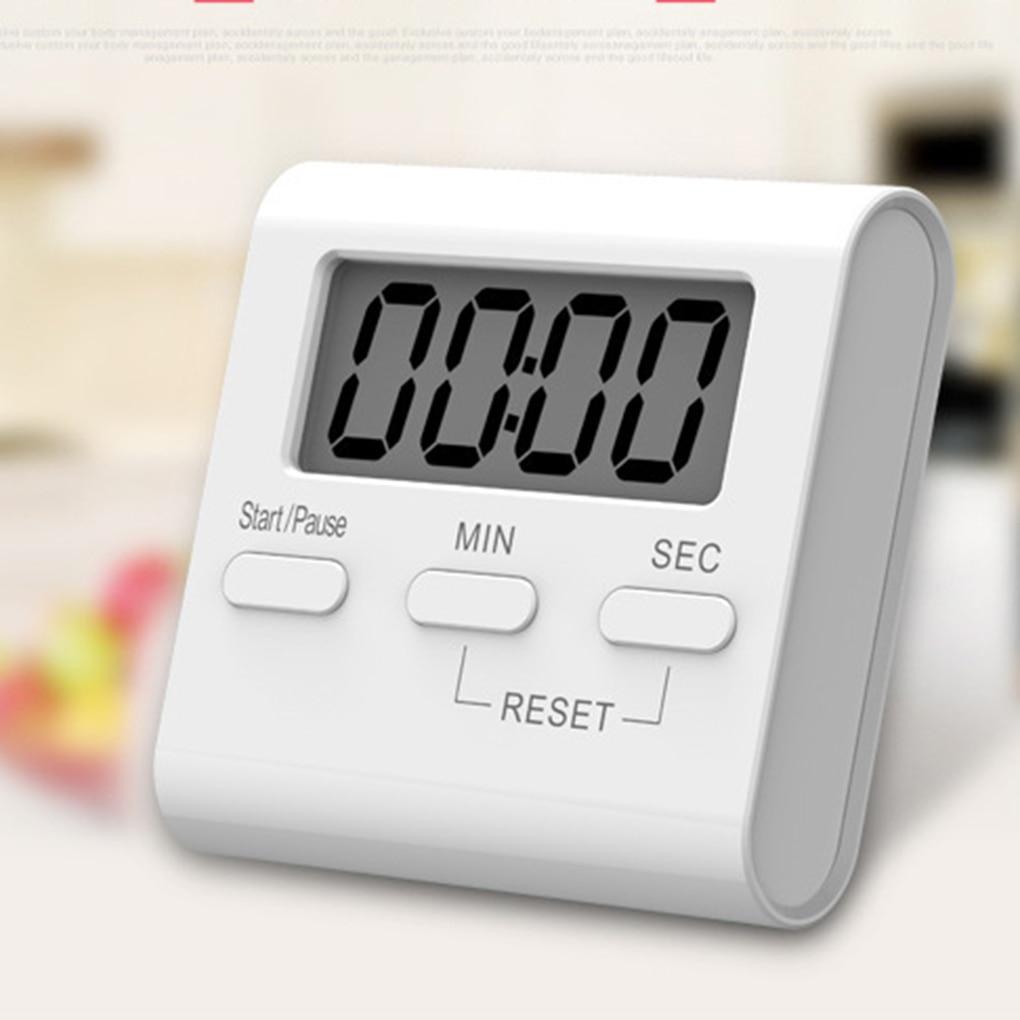 Электронные мини-часы, белый большой телефон с функцией обратного отсчета и громким будильником, аксессуары для приготовления пищи в духов...