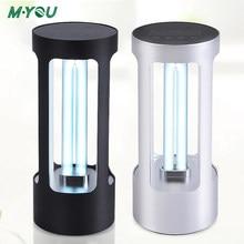 Household UV Sterilizer Ozone UV Lamp 35W Disinfection Ultraviolet Lamp USB Portable UVC Germicidal Light Tube Bactericidal Lamp