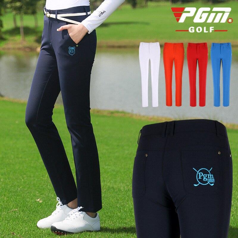 Calças de Golfe Tênis de Golfe Mulheres Calças Xs-xl Altíssima Elasticidade Senhoras Sportwear Pant Lápis Fino Calça Sólida Golfhousut