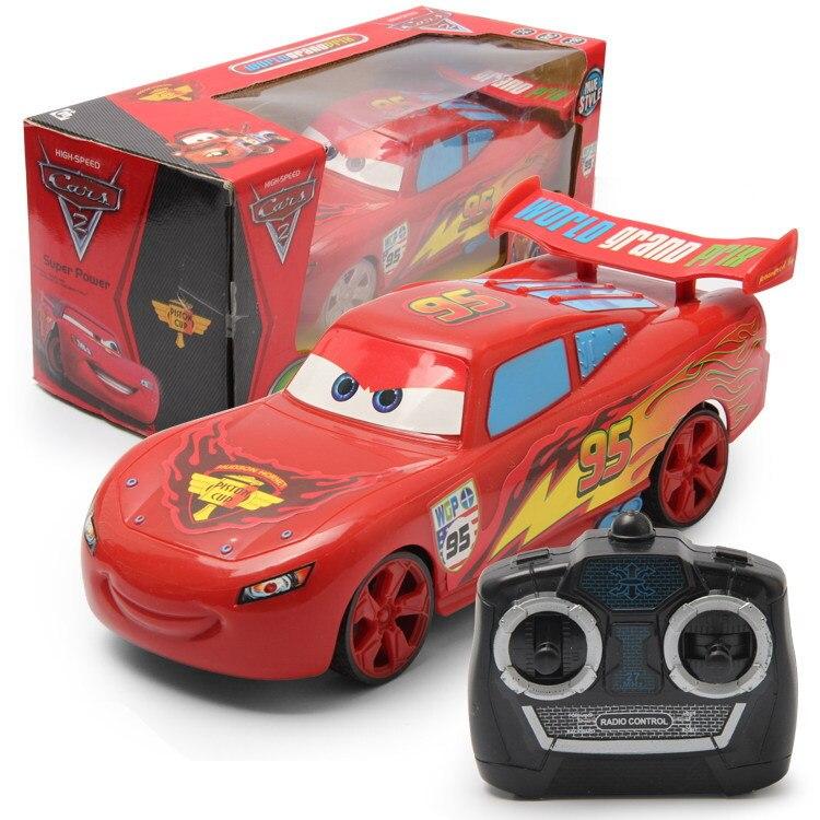 Дисней Pixar машинки управляемые радиоуправляемые машинки модель для детей подарок для мальчиков и девочек детские игрушки для детей подарок