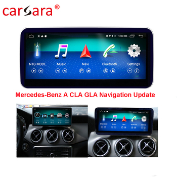 W176 Car GPS Navigation Head Unit for Mercedes CLA/GLA/A Class Smart Radio Stereo 10.25 Big Screen for Ben z 13-17 Multimedia image