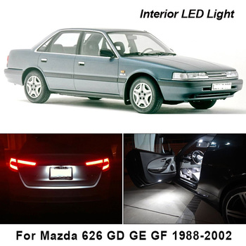 Canbus For Mazda 626 GD GE GF 1988-2002 Vehicle LED Interior Dome Map Light License Plate Light Car Lighting Accessories image