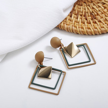 2019 New Retro Womens Fashion Statement Earrings Wedding Party Gift Korean Design Style Wholesale