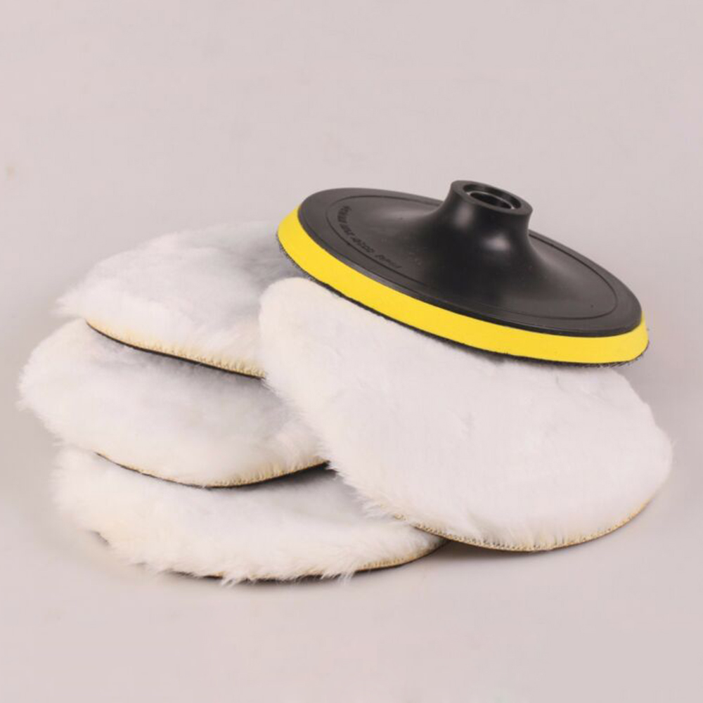 Polidor de lã de polimento branco 8500