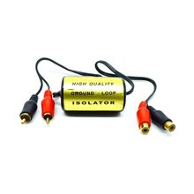 RCA Аудио шум фильтр подавитель заземления петли изолятор для автомобиля и дома стерео