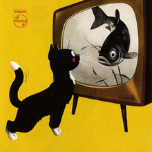 Cartel de publicidad Vintage, pinturas de lienzo clásicas para TV, pósteres de pared Vintage, pegatinas para decoración del hogar, regalo