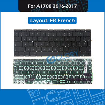 "10pcs/Lot For Macbook Pro Retina 13"" A1708 FR French keyboard Replacement 2016 2017"