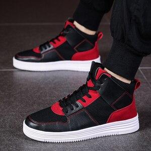 Gran oferta de zapatillas de skate para hombre, zapatos deportivos atléticos para hombre, geniales zapatillas de marca con pliegues para caminar, calzado para entrenar