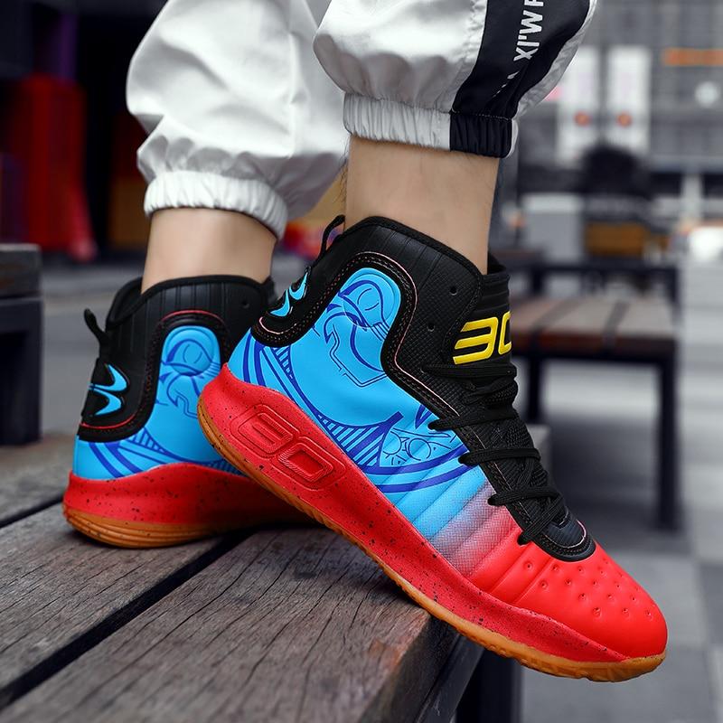 Men's Casual Shoes Men's Breathable Training Net Shoes Classic Tennis Shoes Men's Sports Basketball Shoes Sapatos Large Size