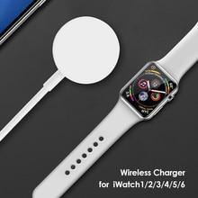 Беспроводной зарядный кабель для Apple Watch Series 5 4 3 2 1, Универсальное портативное зарядное устройство USB для IWatch 6 SE 5 4, зарядная док-станция
