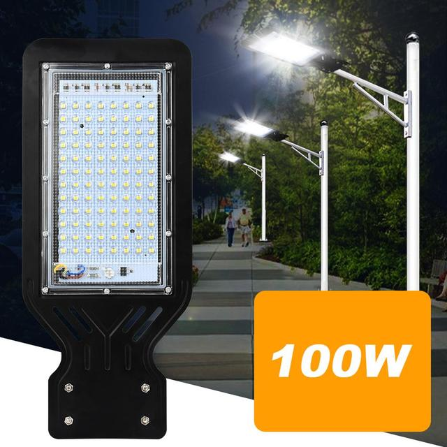 100W LED Street Light Outdoor Spot Lamp Area Parking Yard Barn Industrial Garden Square Highway wall Spot lights AC 220V 110V 2