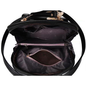 Image 5 - Tiki tarzı kadın sırt çantası oyuncak ayılar PU deri okul çantaları genç kızlar için kadın sırt çantası omuzdan askili çanta seyahat sırt çantası