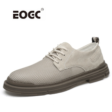 Genuine leather with mesh casual shoes flats,Handmade fashion breathable men shoes comfortable walking shoes men surgut spring autumn comfortable genuine leather men casual shoes fashion men breathable vintage classic flats shoes size 38 45 page 4 page 5 page 4