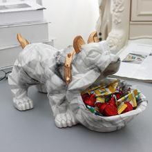 Скандинавская Милая Геометрическая собака бульдог креативная