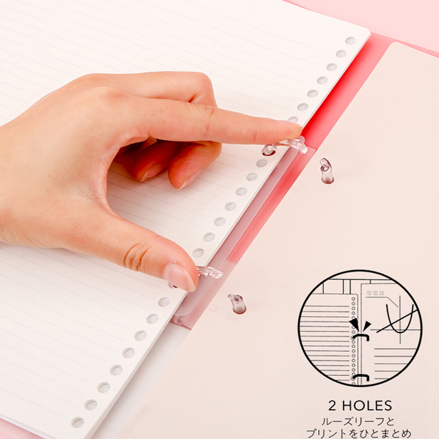 KOKUYO Campus Futaba Loose-leaf Notebook Mobile Case A4 High-capacity B5 Punchable Core Replacement Notebook