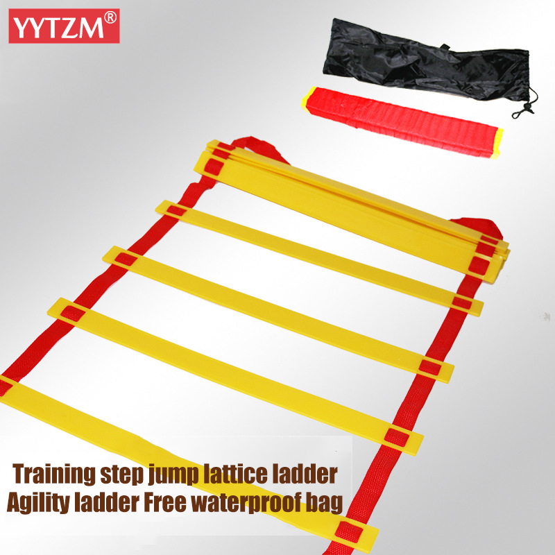 3/5/6/8/10 Agility Ladder Pace Training Ladder Speed Straps Rope Ladder Tab Soccer Football Stairs Fitness Equipment Hopscotch