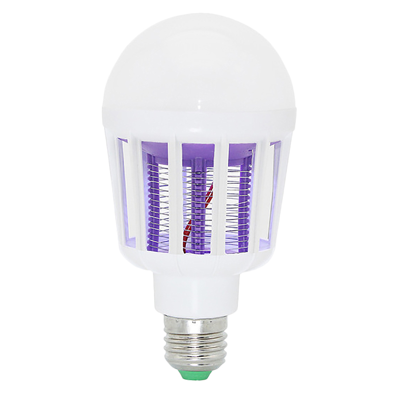 220V E27 Led Mosquito Killer Lamp 9W Led Ball Light Anti Repellent Fly Bug Zapper Insect Killer Led Uv Bulb
